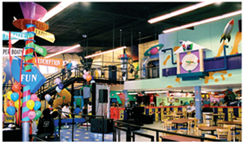 Located In A Webster Texas, Kaser Design (KD) Help Transform This One Time  Putt Putt Facility Into A Funhouse Themed FEC. Working Directly With  Ownership, ...